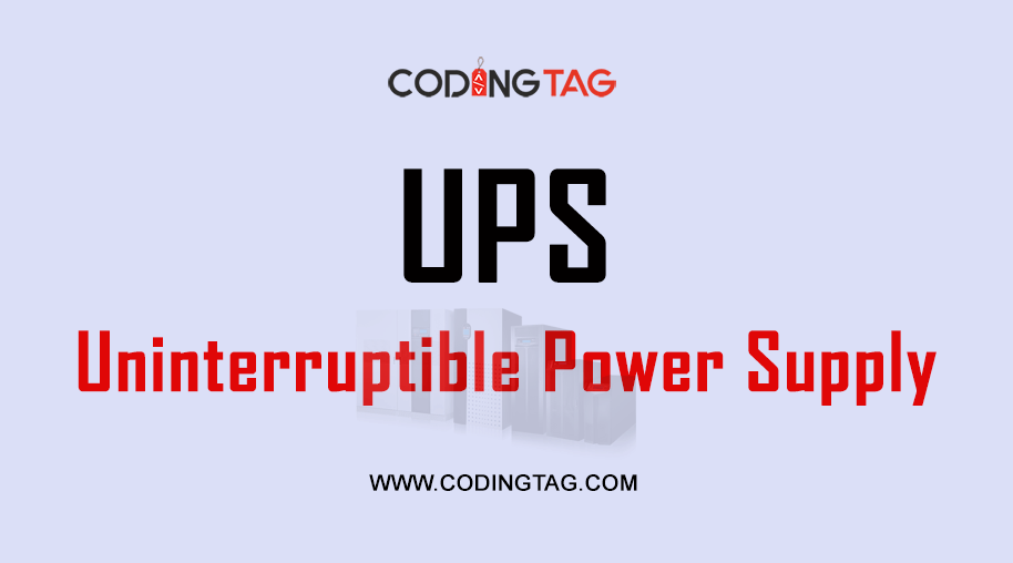 UPS (Uninterruptible Power Supply)