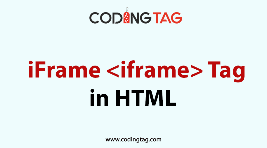 HTML iFRAME (<iframe>) Tag