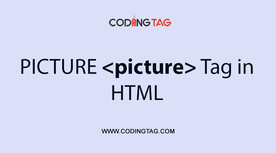 HTML PICTURE <picture> Tag