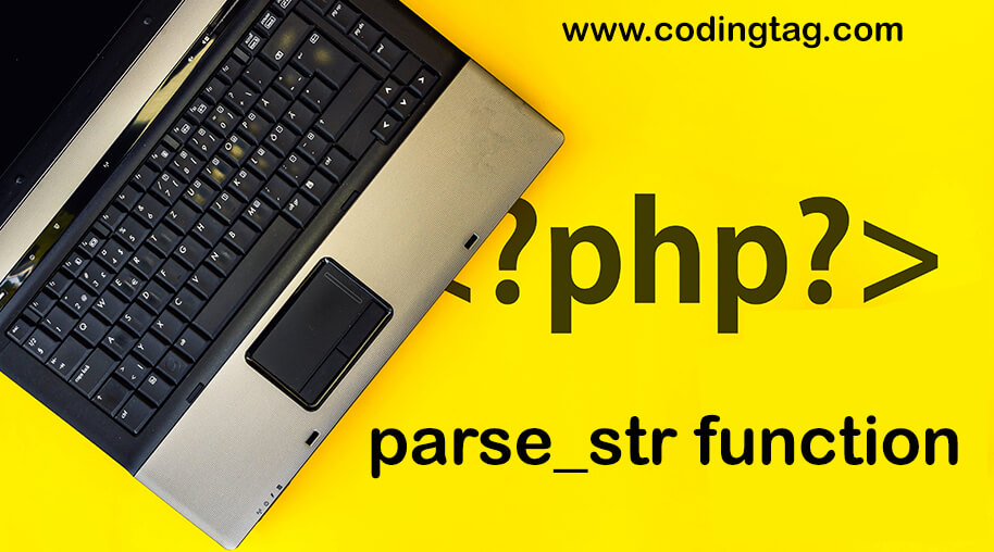 How can I use parse_str() function in PHP