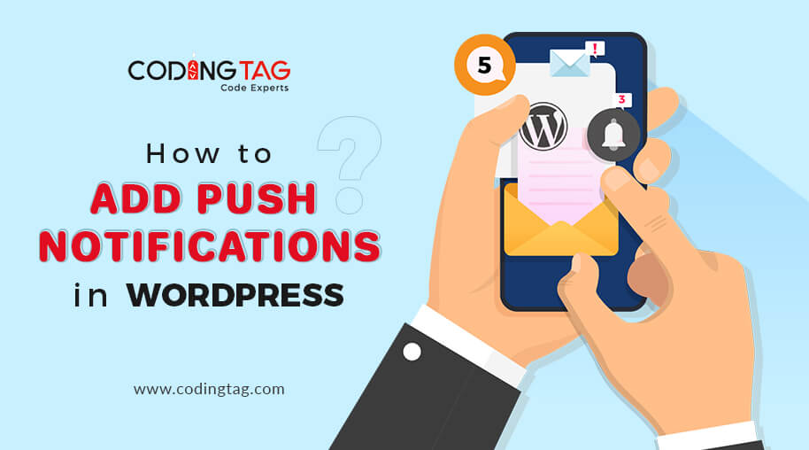 How to add push notification in WordPress