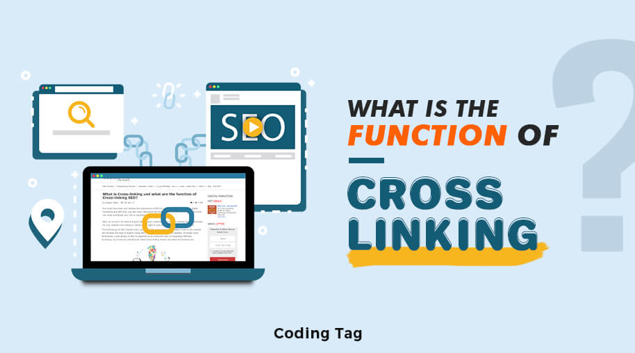 What is Cross-linking and what are the function of Cross-linking SEO?