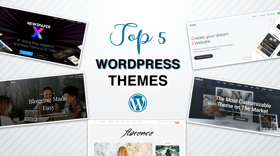 Top 5 WordPress Themes