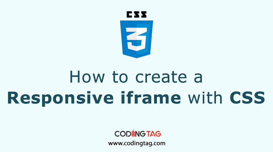 How to create a Responsive iframe with CSS?