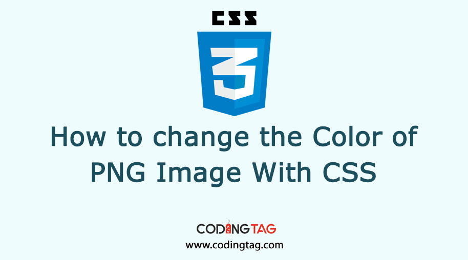 How to change the Color of PNG Image with CSS? Filter property explained