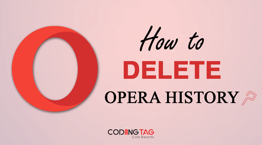 How to delete Opera History