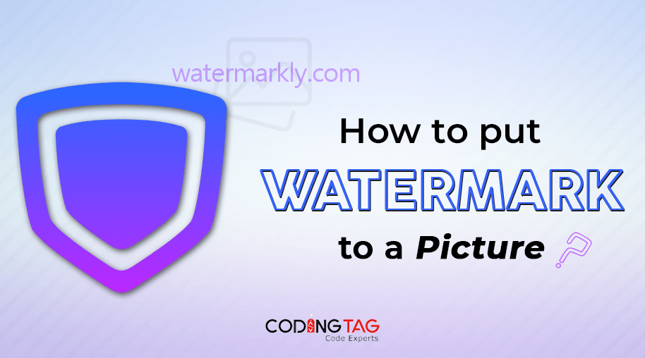How to put Watermark to a Picture