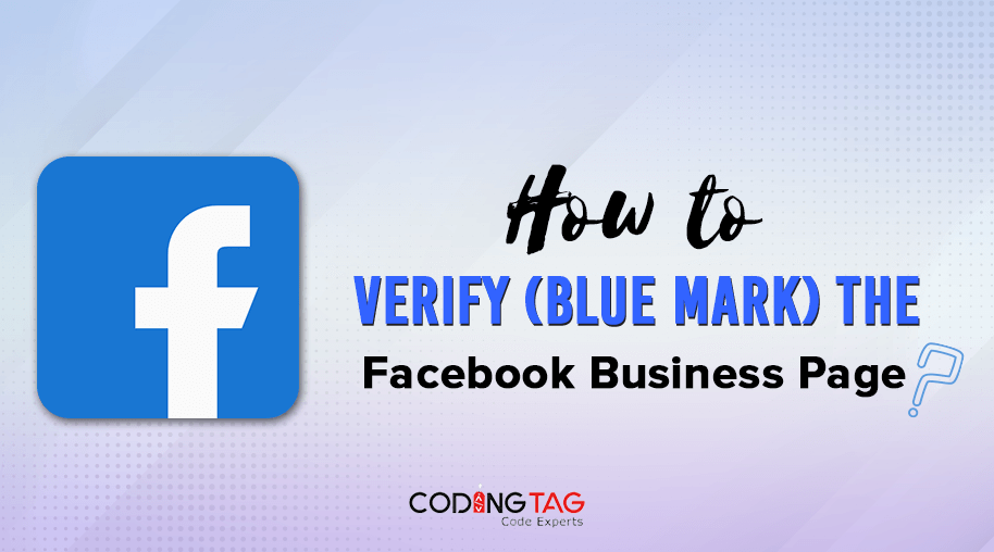 How to verify (Blue Mark) the Facebook Business Page