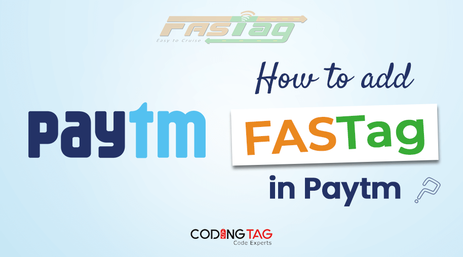 How to add FASTag in Paytm