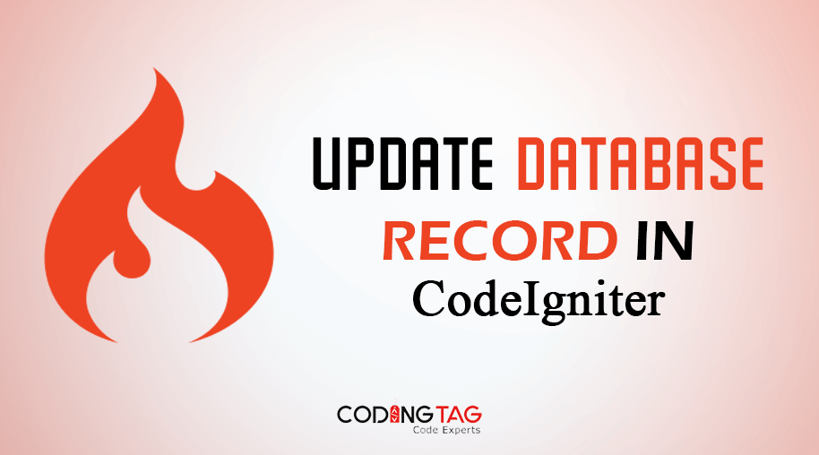 Update Database record in CodeIgniter