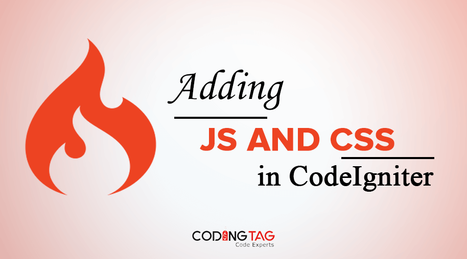 Adding JS and CSS in CodeIgniter