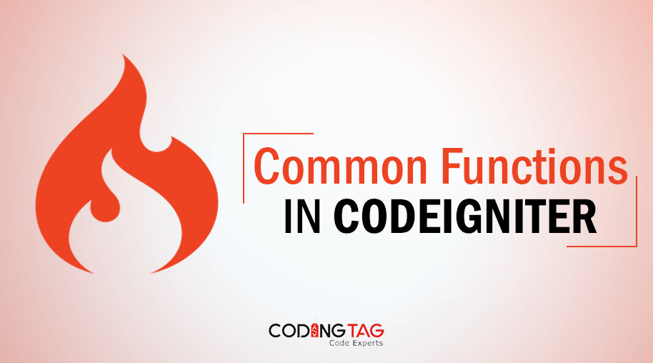 Common Functions in CodeIgniter
