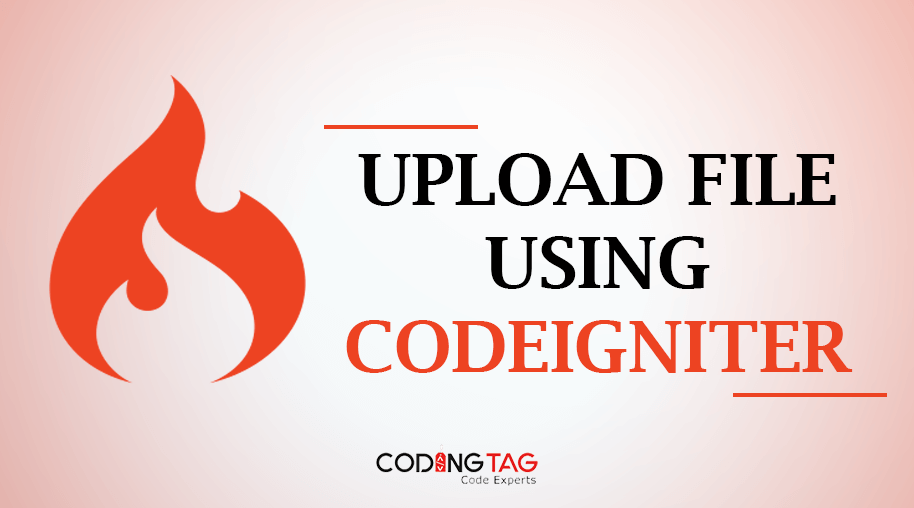 Upload file using CodeIgniter